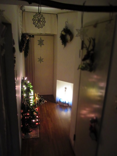 クリスマスインテリア*廊下編1.jpg