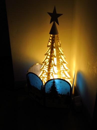 クリスマスインテリア*廊下編2.jpg
