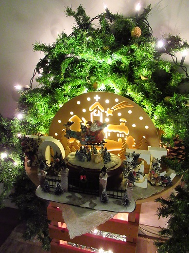 クリスマスインテリア*廊下編3.jpg